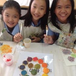 Edible Color Wheel: Grade 5