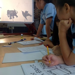 Shadow Puppet Movie Making : Grade 3