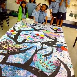 Spring Mural: Grades 4 & 5