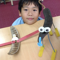 Creating with Found Objects: Grade 3