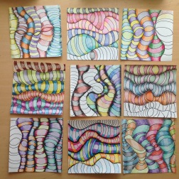 Grade 5 Optical Illusions in Art